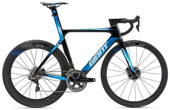 Giant Propel Advanced SL 0 Disc Color: Carbon Smoke/Blue/White