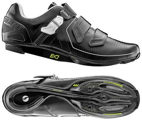 Giant Pulse MES Composite Sole Road Shoe Color: Black/White