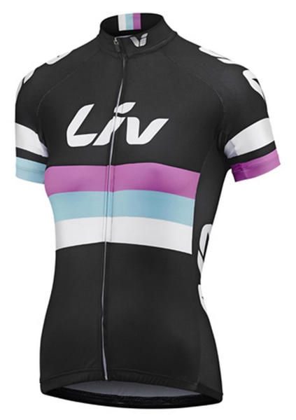 Liv Race Day Short Sleeve Jersey - Women's Color: Black
