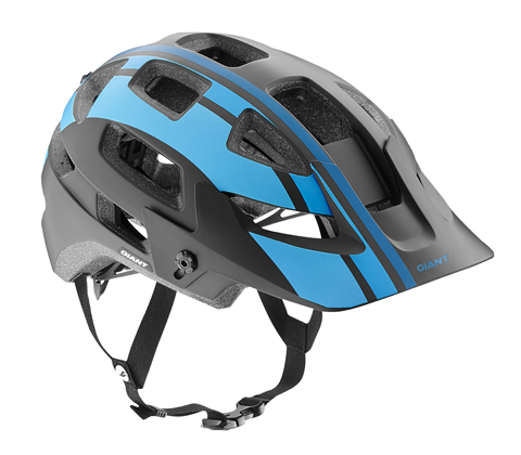 Giant Rail Helmet Color: Black/Blue