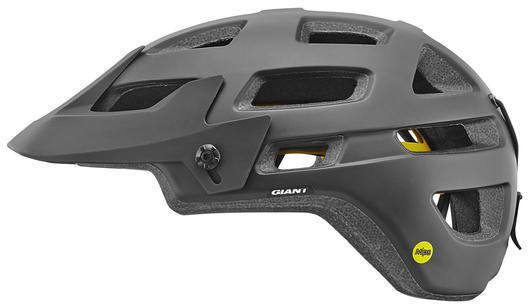 Giant Rail Helmet MIPS Color: Black/Grey