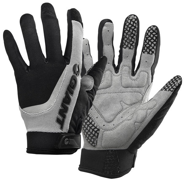 Giant Horizon Long Finger Gloves Color: Black