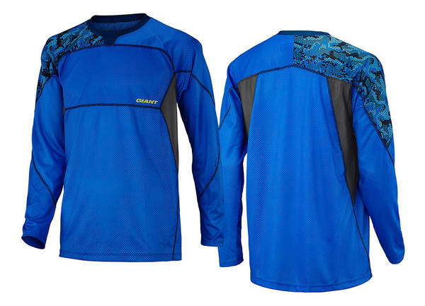 Giant Realm Long Sleeve Jersey Color: Blue