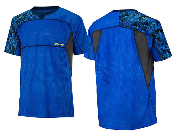 Giant Realm Short Sleeve Jersey Color: Blue