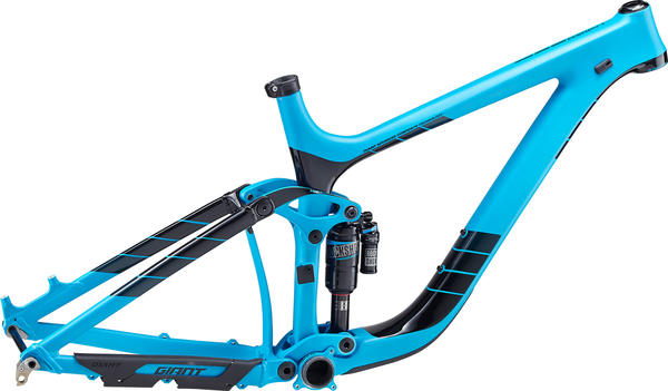 Giant Reign Advanced 27.5 0 Team Frameset Color: Blue/Black