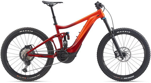 Giant Reign E+ 1 Pro Color: Electric Red