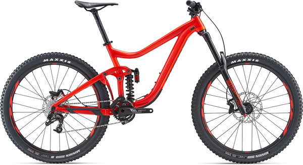 Giant Reign SX 2 Color: Pure Red/Neon Red