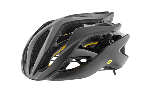 Giant Rev Helmet MIPS Color: Matte Black/Gloss Black