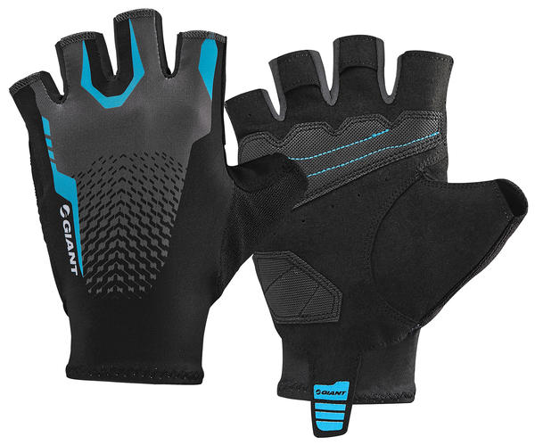 Giant Rev Short Finger Gloves Color: Black/Blue