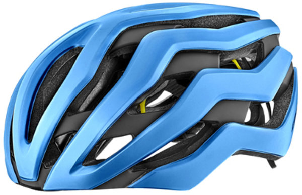 Giant Rev Pro MIPS Helmet Color: Gloss Metallic Blue