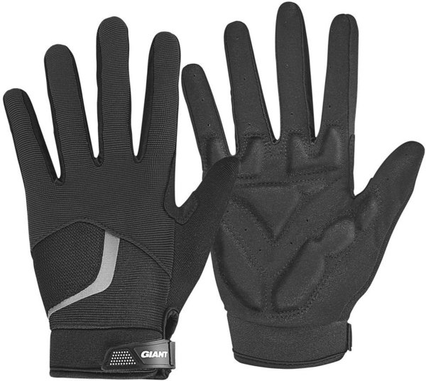 Giant Rival Long Finger Gloves Color: Black