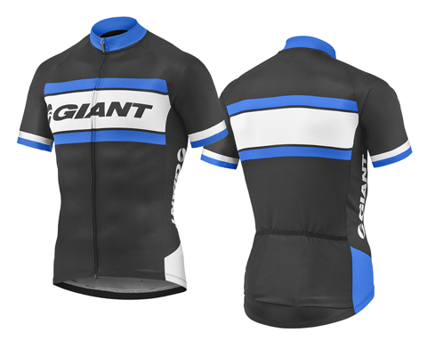 Giant Rival S/S Jersey Color: Black/Blue