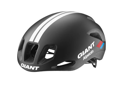 Giant Rivet Helmet Giant-Alpecin Team Issue Color: Black/White/Red