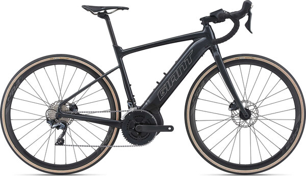 Giant Road E+ 1 Pro Color: Gunmetal Black