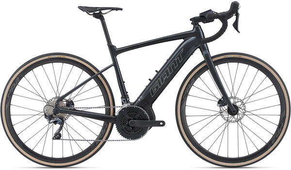Giant Road E+ 1 Pro29 Color: Gunmetal Black