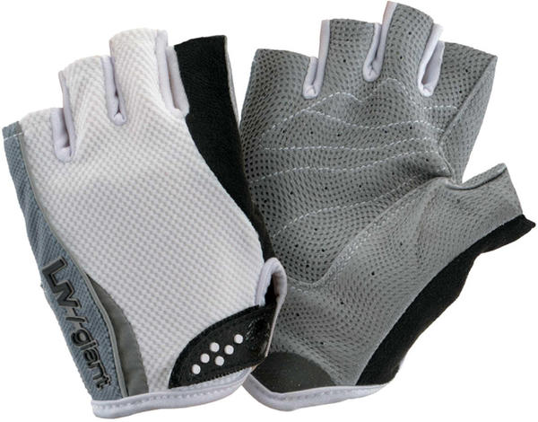Giant Liv/Giant Road Pro Short Finger Gloves - Women's Color: White