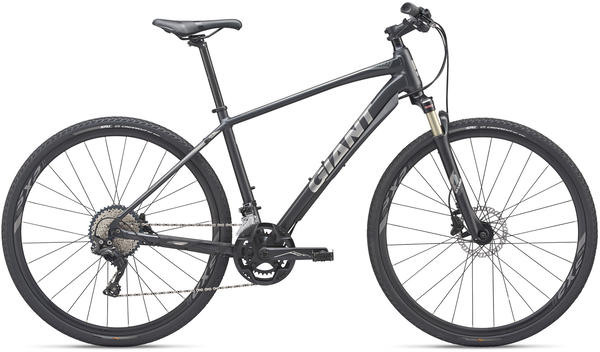 Giant Roam 0 Disc Color: Metallic Black/Chrome/Charcoal