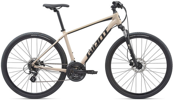 Giant Roam 4 Disc 2020 Color: Gloss Light Tan/Red
