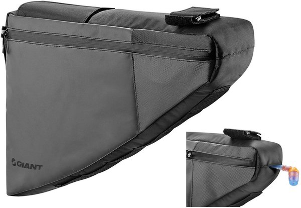 Giant Scout Bikepacking Frame Bag Color | Size: Black | Medium
