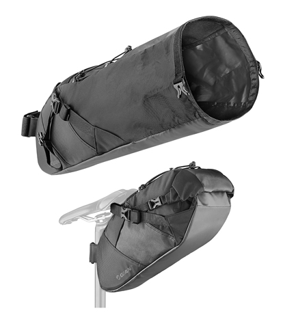Giant Scout Bikepacking Seat Bag Color: Black