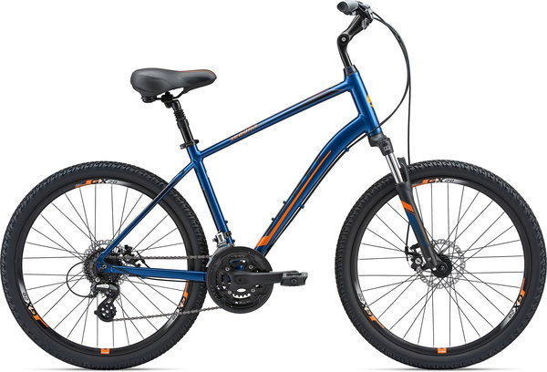 Giant Sedona DX Disc Color: Electric Blue/Orange/Black