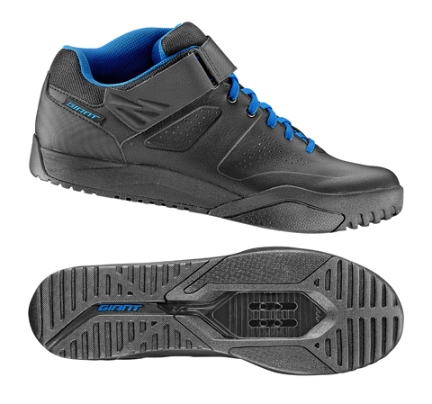 Giant Shuttle DH Off-Road Shoes Color: Black/Blue