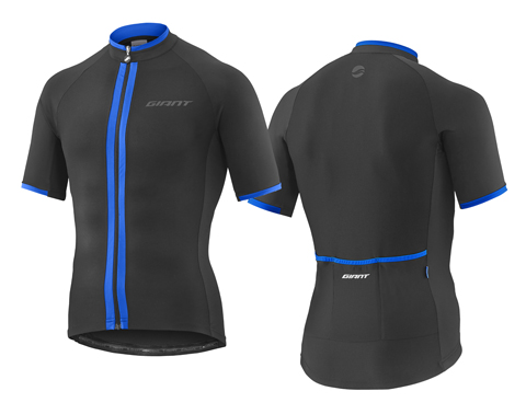 Giant Signature S/S Jersey Color: Black/Blue