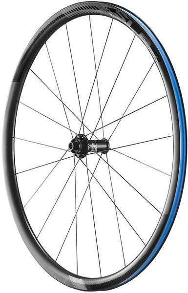 Giant SLR 1 30mm Carbon Climbing C/L Disc Road Wheels 700c Front