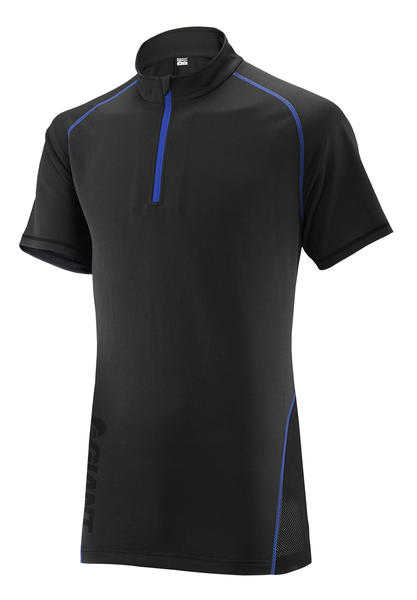 Giant Core Trail Short Sleeve Jersey Color: Black/Blue