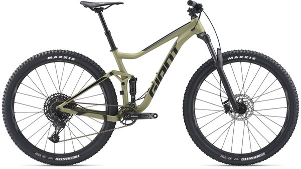 Giant Stance 29er 1 Color: Olive Green/Black