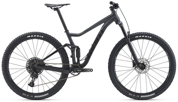 Giant Stance 29er 2 Color: Matte Gunmetal Black/Gloss Black