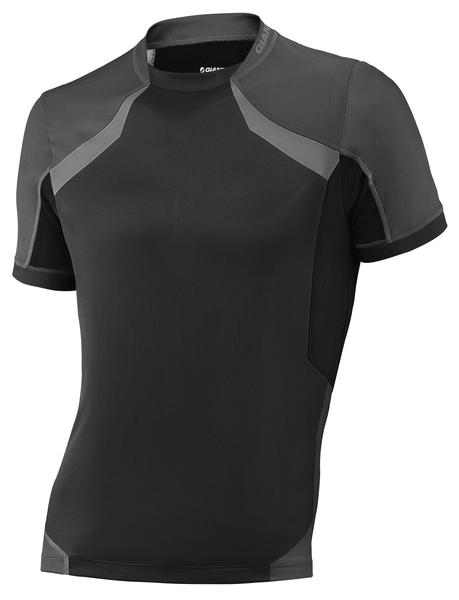 Giant Realm Short Sleeve Jersey Color: Charcoal/Black