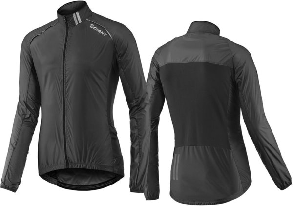 Giant Superlight Wind Jacket Color: Black