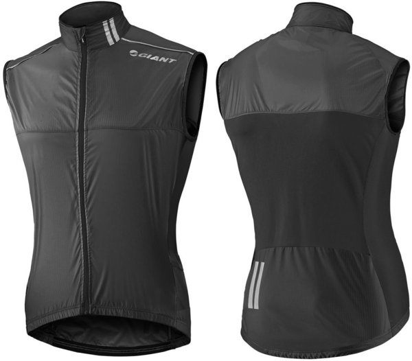 Giant Superlight Wind Vest Color: Black