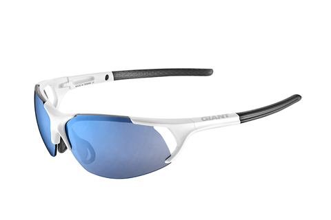 Giant Swift Eyewear NXT Lens Color | Lens: Gloss White | Blue NXT