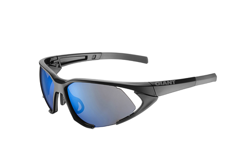 Giant Swoop Eyewear NXT Lens Color | Lens: Gloss Black | Blue NXT