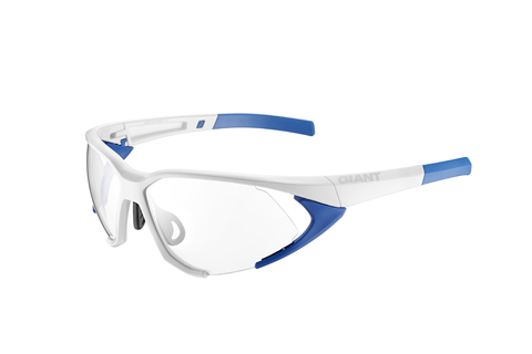 Giant Swoop Eyewear PC 3 Lens Color: Gloss White/Blue