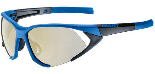 Giant Swoop Eyewear PC 3 Lens Set w/1 Revo Lens Color | Lens: Blue/Black | Revo|Clear|Gray