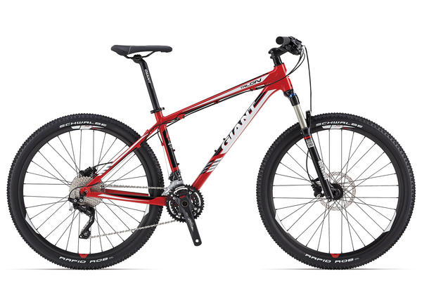 Giant Talon 27.5 1 Color: Red/Black