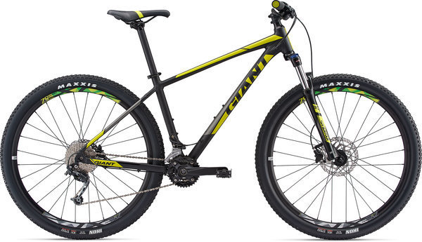 Giant Talon 29 2 Color: Matte Black/Neon Yellow