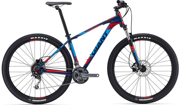 Giant Talon 29er Color: Dark Blue/Red