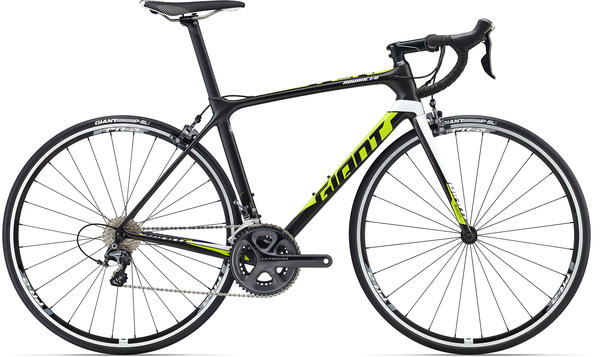 Giant TCR Advanced 1 Color: Satin Composite/Lime/White