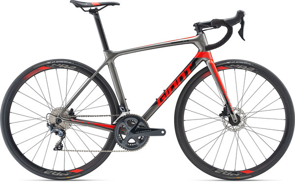 Giant TCR Advanced 1 Disc KOM Color: Charcoal