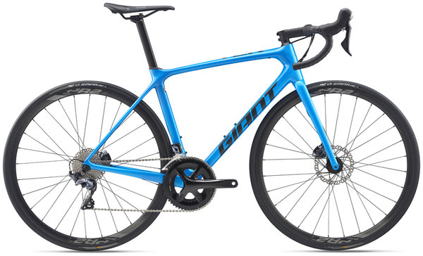 Giant TCR Advanced 1 Disc Pro Compact Color: Metallic Blue