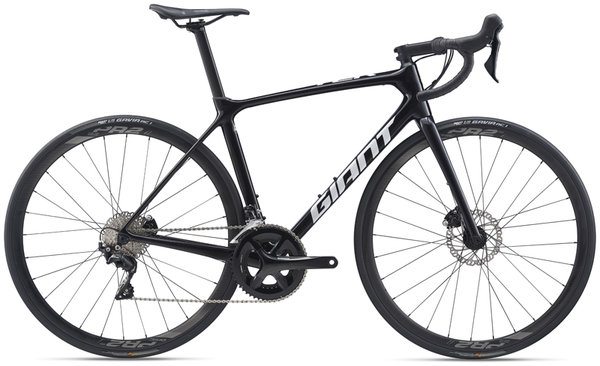 Giant TCR Advanced 2 Disc Pro Compact Color: Metallic Black/White