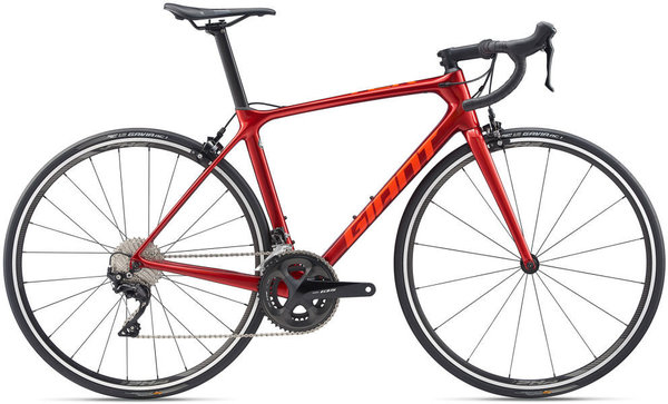 Giant TCR Advanced 2 KOM Color: Metallic Red