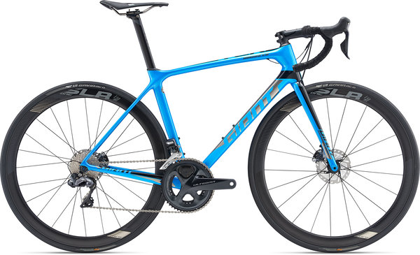 Giant TCR Advanced Pro 0 Disc Color: Metallic Blue