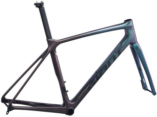 Giant TCR Advanced Pro Disc Frameset Color: Chameleon Galaxy