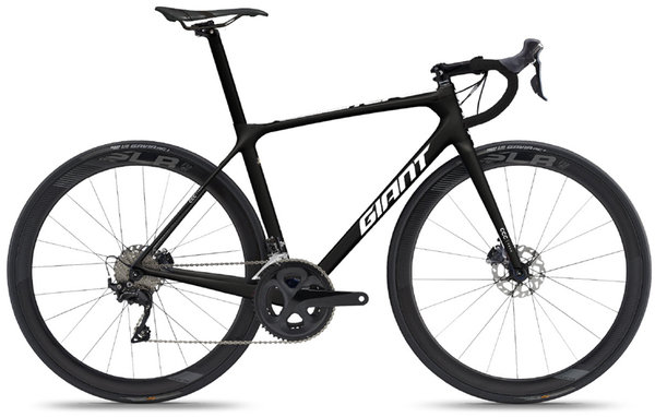 Giant TCR Advanced Pro Team Disc Color: Carbon/White