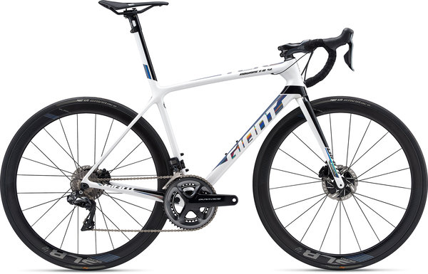 Giant TCR Advanced SL 0 Disc Dura-Ace Color: White